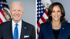 White House releases official portraits of President Biden, VP Harris