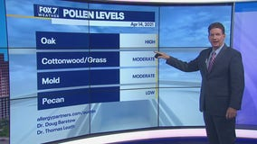 Noon weather forecast for April 14, 2021
