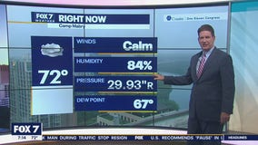 Morning weather forecast for April 14, 2021