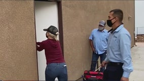 Riverside family finally moves into dream home after 15-month standoff with squatter