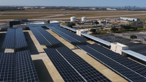 Austin-Bergstrom, Austin Energy unveil solar project atop parking garage