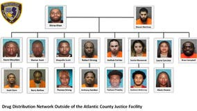 New Jersey drug trafficking bust nets 30 arrests; 3 charged with murder