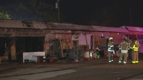 Austin Fire Department responds to multiple homeless camp fires