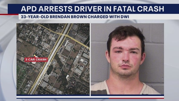 Man charged with DWI after fatal crash on I-35 in North Austin