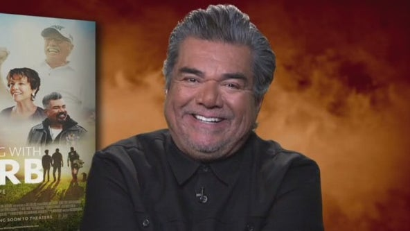 George Lopez talks about his new film 'Walking with Herb'