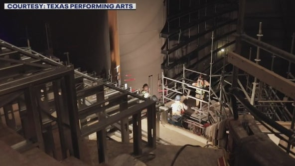 Update on renovations going on at Bass Concert Hall