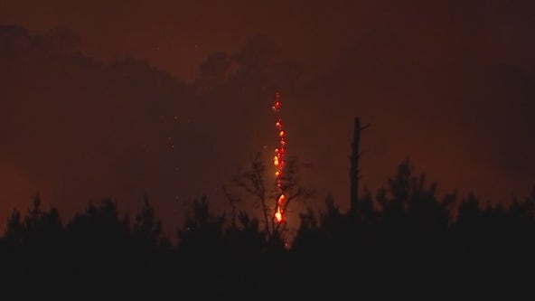 Crews have Bastrop County wildfire 95% contained after 24 hours