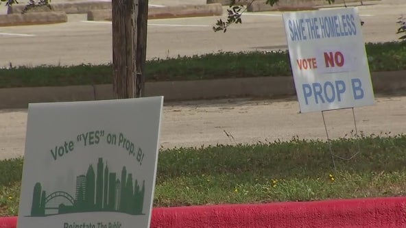 Early voting begins for May 1 election