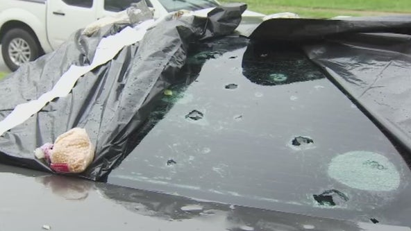 Damage assessments begin after Thursday hail storm