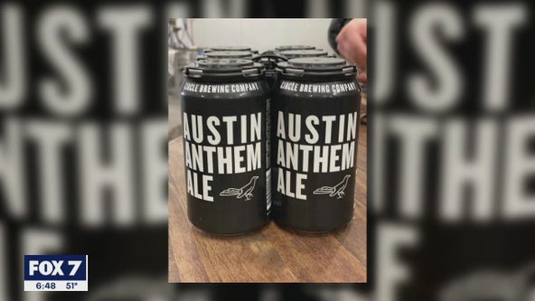 'Austin Anthem Ale' ready to go for Austin FC's match