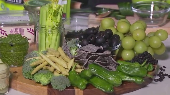 Green & black graze board recipe from FOX 7 Austin's Tierra Neubaum