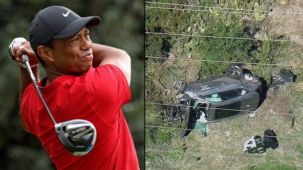 Tiger Woods was driving more than 80mph, nearly double legal limit when he crashed, sheriff says