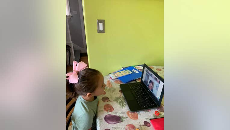 school at home distance learning