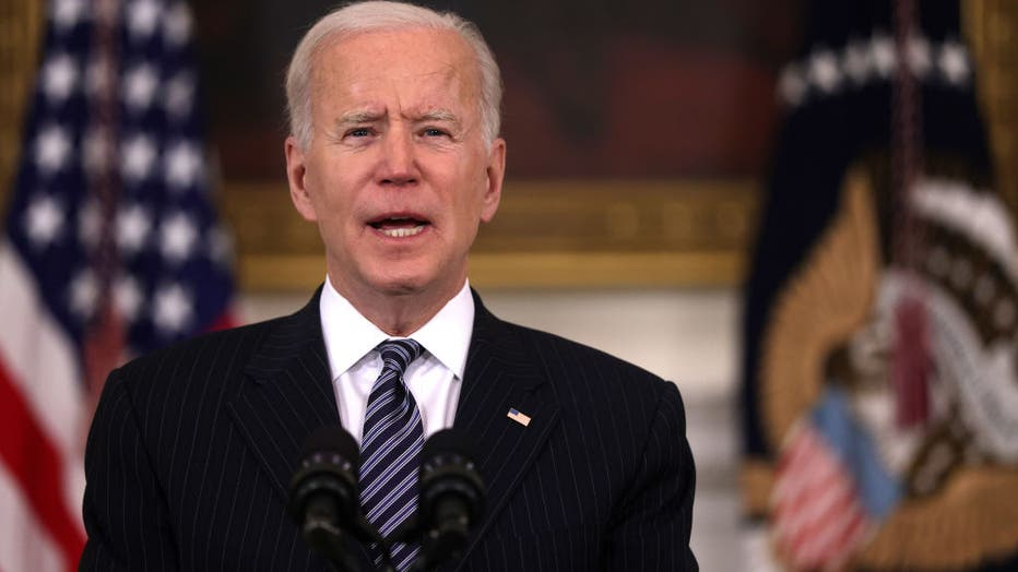 President Biden Delivers Remarks On State Of Vaccinations In America