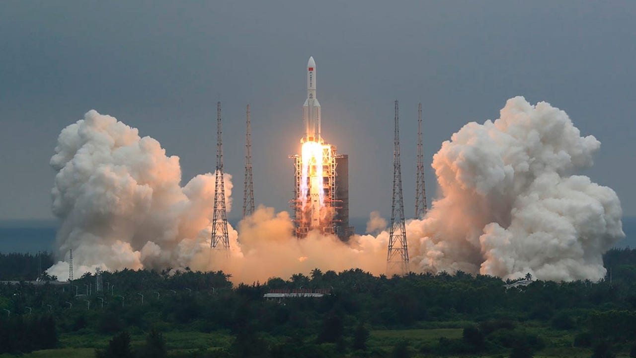 Where will it land? Chinese rocket debris said to re-enter Earth's atmosphere in just hours