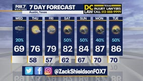 Noon weather forecast for May 12, 2021