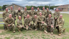 Soldiers shave heads for battle buddy's sister fighting brain cancer