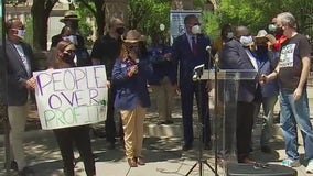Activists rally for police, criminal justice reform at Texas Capitol