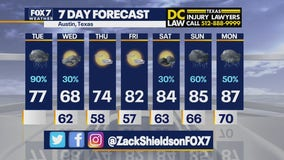 Noon weather forecast for May 11, 2021