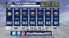 Noon weather forecast for May 14, 2021
