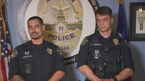 APD officers recognized for response to two life-saving calls