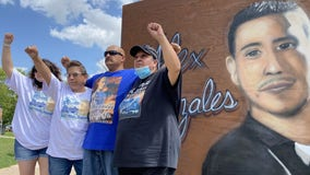 Dozens march to honor man killed in officer-involved shooting