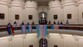 Trans Pride Flags waved at Texas Capitol as anti-transgender bill misses deadline
