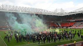 Manchester United fans storm stadium demanding Glazer family sell club