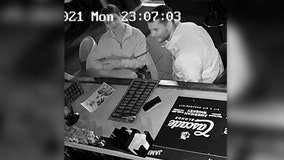 San Marcos police looking for 2 suspects who stole purse from lounge