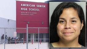 Woman accused of posing as student at South Florida high school to promote her Instagram account