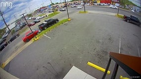 Video: Violent Temple Hills hit-and-run involving a motorcycle caught on camera