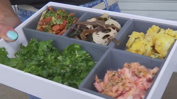 Taking a look at Bento Picnic in East Austin