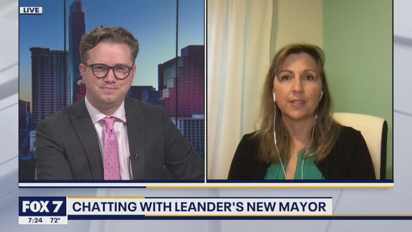 LIVE: Leander Mayor-Elect Christine Sederquist