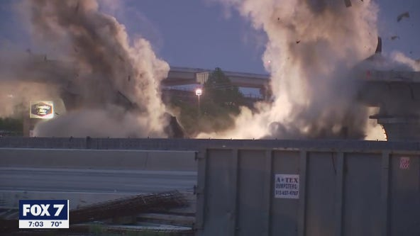 CAUGHT ON VIDEO: 183 flyover implosion