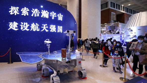 China lands rover on Mars for the first time in nation's history