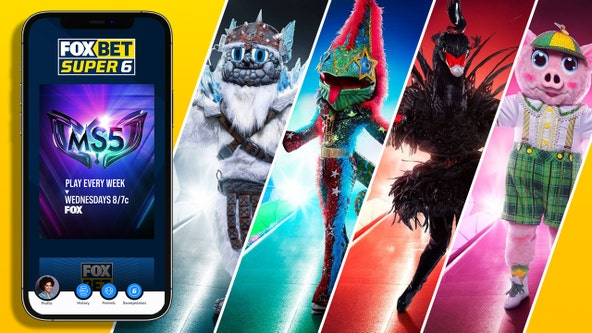 'The Masked Singer' down to final 4; download the FOX Super 6 app to win cash before it's too late
