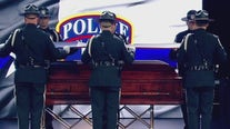 Slain San Marcos police officer honored at funeral 1 year after death