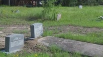 Historical marker dedicated to recognize Austin's oldest African-American cemetery