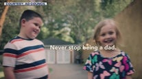 New ad campaign reminds dads to keep encouraging children