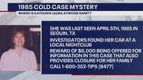 Reward increased for information in 1985 Guadalupe County cold case