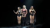 Britney Spears tells audience she has 102-degree fever during concert in 2018