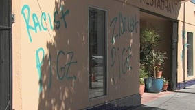 Cafe tagged with anti-Semitic hate speech; hate crimes on the rise in San Francisco