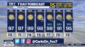 Morning weather forecast for June 17, 2021