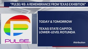 """Victims honored with """"Pulse/49: A Remembrance from Texas Exhibition"""""""