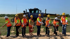 TxDOT breaks ground on FM 2001 West realignment project