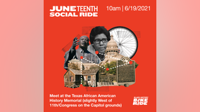 Juneteenth Social Ride biking 8.46-mile route to honor George Floyd