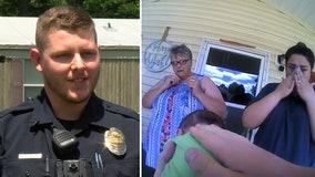 Arkansas rookie police officer saves newborn from choking