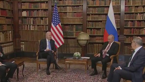 President Biden and President Putin have their long awaited sit down