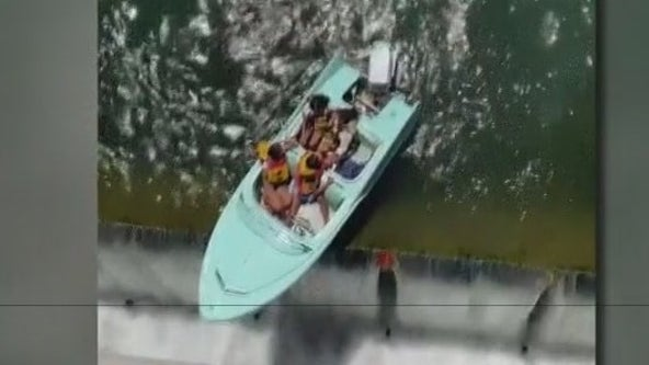First responders urge caution on water following incident on Longhorn Dam