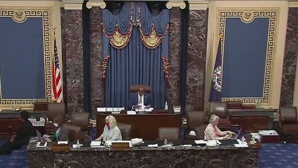 Congress members debate on the passage of voting reform bill